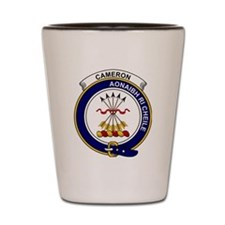 Cameron Clan Badge Shot Glass