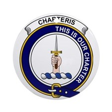 Charteris (Earls of Wemyss) Clan Ba Round Ornament