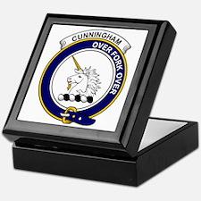 Cunningham Clan Badge Keepsake Box