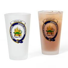 Douglas Clan Badge Drinking Glass