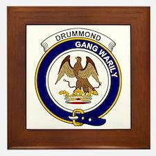 Drummond Clan Badge Framed Tile