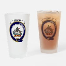 Duncan II Clan Badge Drinking Glass