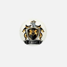 CARROLL COAT OF ARMS Mini Button