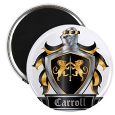 CARROLL COAT OF ARMS Magnet