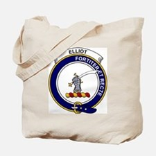 Elliot Clan Badge Tote Bag
