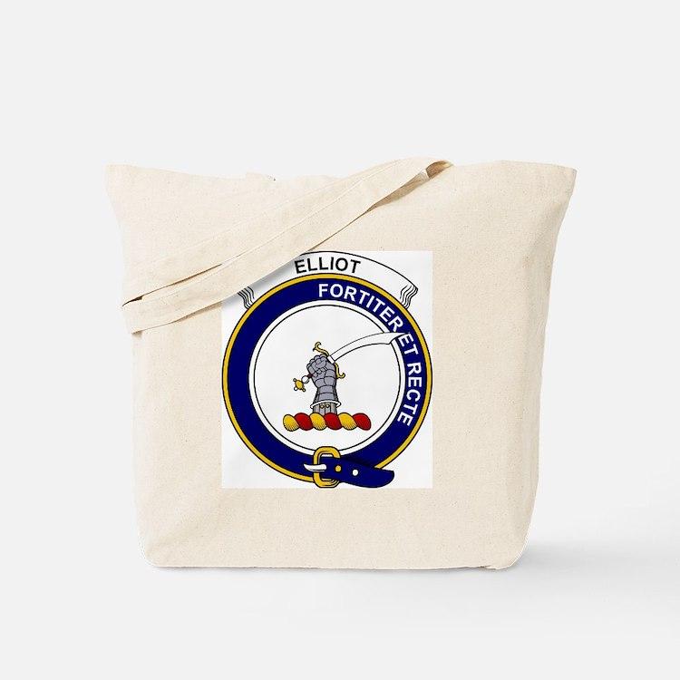 Elliot Clan Badge Tote Bag