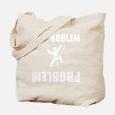 Climbing Problem White Tote Bag