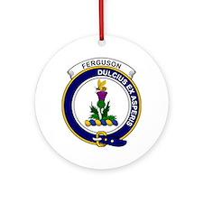 Ferguson Clan Badge Round Ornament