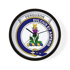 Ferguson Clan Badge Wall Clock