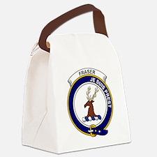 Fraser (of Lovat) Clan Badge Canvas Lunch Bag