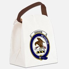 Graham Clan Badge Canvas Lunch Bag