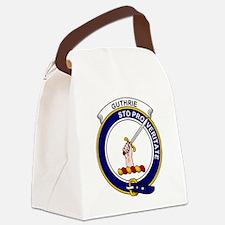 Guthrie Clan Badge Canvas Lunch Bag