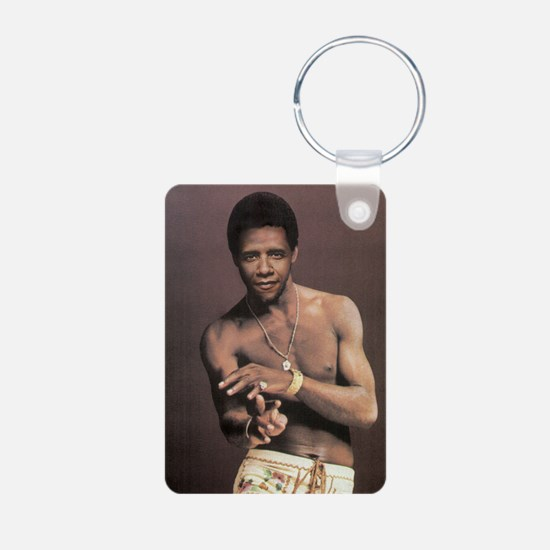 o1 Aluminum Photo Keychain