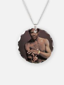 o1 Necklace Circle Charm
