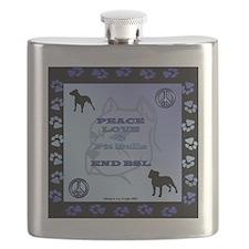 peace-love-and-pitbulls Flask