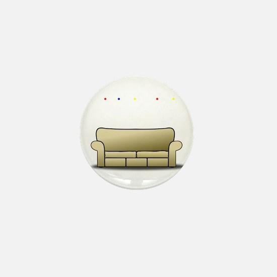 pivot white Mini Button