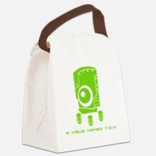 10x10_tom_green Canvas Lunch Bag