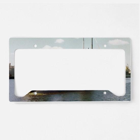 jadams framed panel print License Plate Holder