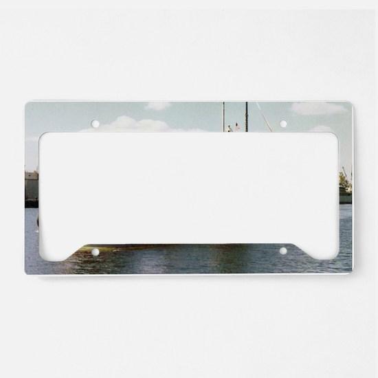 jadams large framed print License Plate Holder