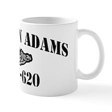 jadams black letters Mug