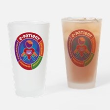 ePatient Circle Drinking Glass