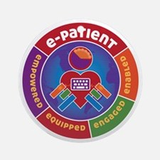 ePatient Circle Round Ornament