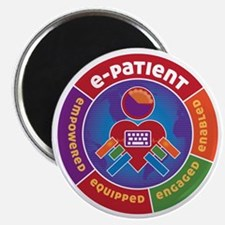 ePatient Circle Magnet