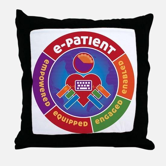 ePatient Circle Throw Pillow