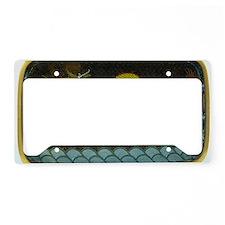 BRONZE_ENAMEL_DRAGON_TRAY-lap License Plate Holder