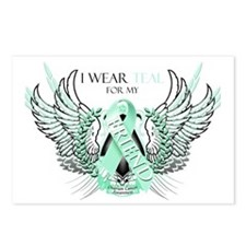 I Wear Teal for my Friend Postcards (Package of 8)