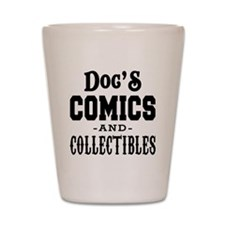 Docs-Comics-Thicker Shot Glass