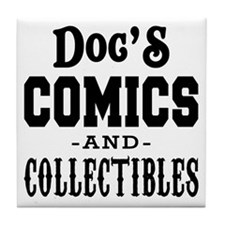 Docs-Comics-Thicker Tile Coaster