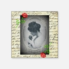 """Mabel Taliaferro Square Sticker 3"""" x 3"""""""