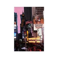 times_square_ipad Rectangle Magnet