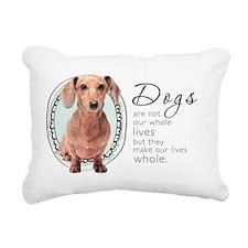 wholelives4 Rectangular Canvas Pillow