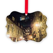 quebec_street_redbubble Ornament