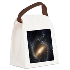 Barred Galaxy Spiral NGC 1073 Canvas Lunch Bag