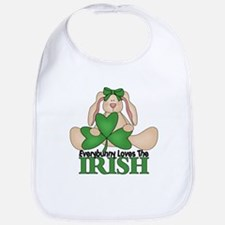 St. Patrick's Day Bunny Bib