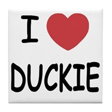 DUCKIE Tile Coaster