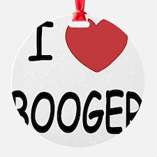BOOGER Ornament