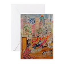 Flamenco Greeting Cards (Pk of 10)