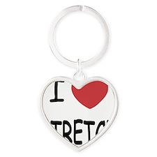 STRETCH Heart Keychain
