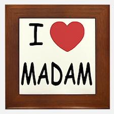 MADAM Framed Tile