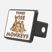 Three Wise Monkeys Hitch Cover