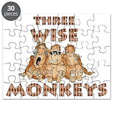 Three Wise Monkeys Puzzle