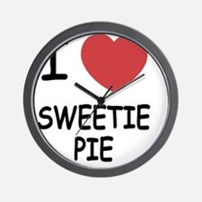 SWEETIE_PIE Wall Clock