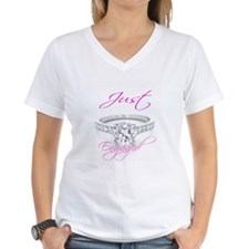 Just Married & Just Engaged Shirt
