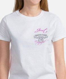 Just Married & Just Engaged Tee