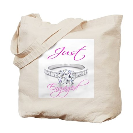 Just Married & Just Engaged Tote Bag