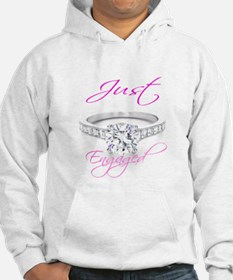 Jusr Married & Just Engaged I Hoodie
